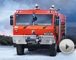 Zátěžové zkoušky nové hasičské TATRY T816