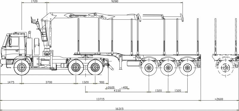 6x6 Universal Log Truck Tatratrucks Com