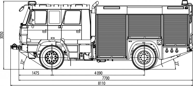 4x4 fire truck chassis cab tatratrucks com fire truck clip art images fire truck clip art frame