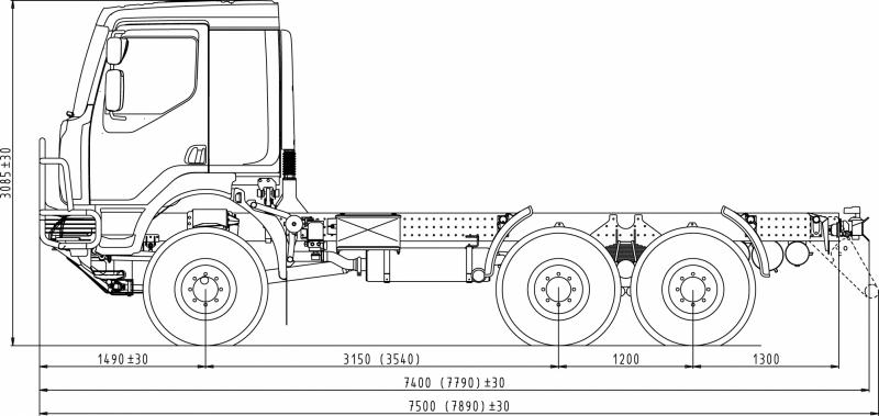 6x6 truck crane. Black Bedroom Furniture Sets. Home Design Ideas