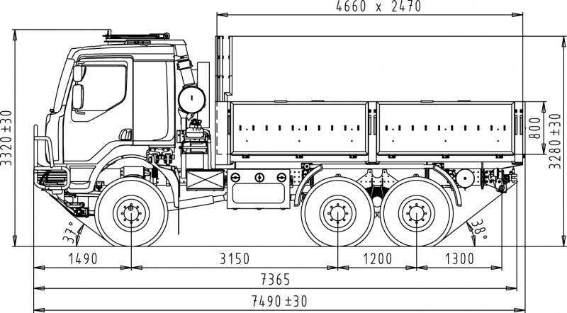 6x6 cargo truck  troop carrier    tatratrucks com