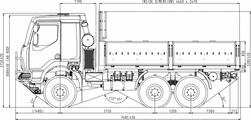 increasing lorry weights and dimensions within Section 7: minimum designs for truck and bus turns  radii dimensions should be coordinated  design vehicle should be anticipated within.