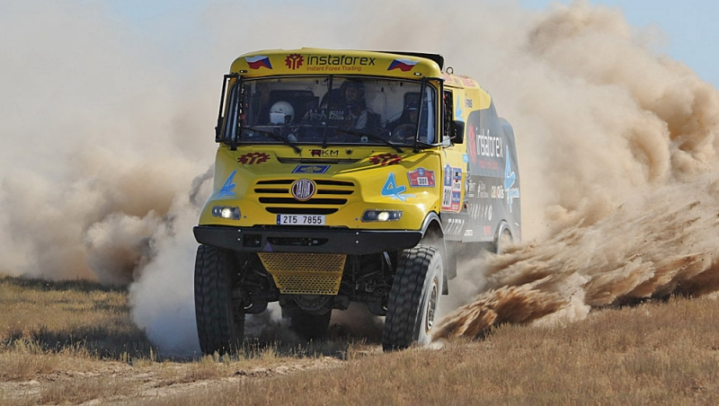 Tatrin kamion na jednom od Dakar relija