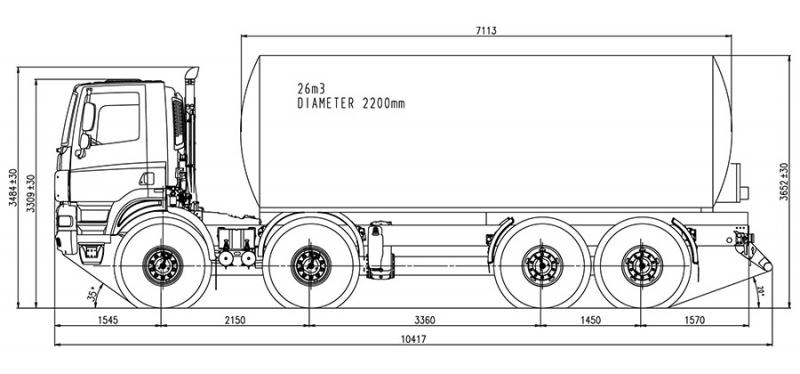 Paul Nutzfahrzeuge Tatra-phoenix-8x8_agricultural-chasiss_superstructure_01_dimensions