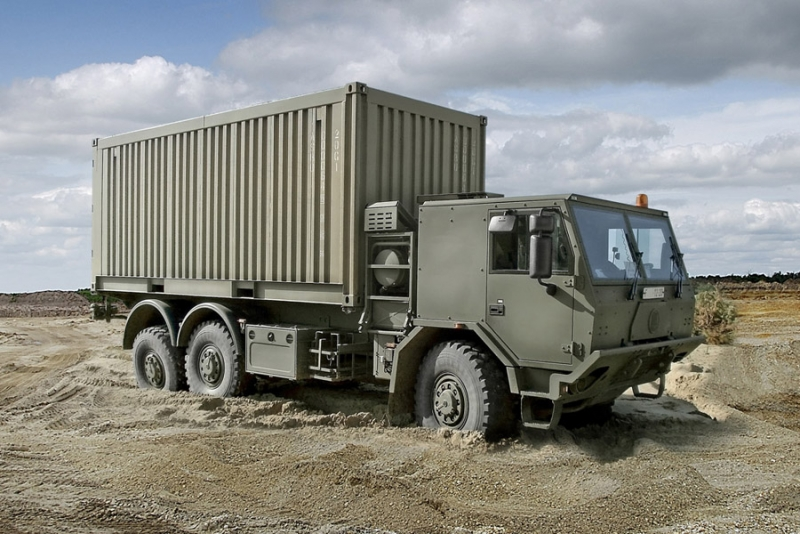 DEFENCE - TATRA in the army :: Tatratrucks com
