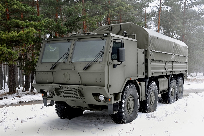 8x8 High Mobility Heavy Duty Universal Cargo Troop Carrier