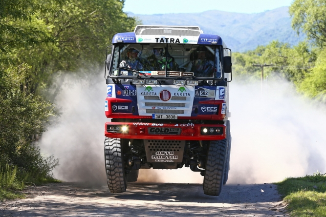 Tatras in 2014 Dakar Rally