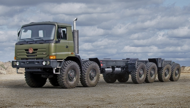 TATRA TRUCKS resumed cooperation with the Indian state-owned company BEML