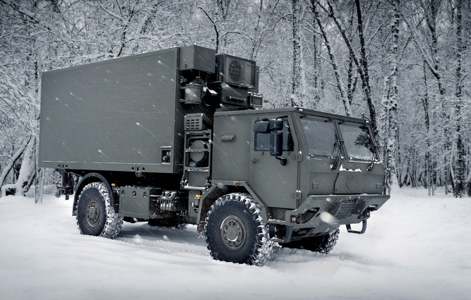 4x4 HIGH MOBILITY HEAVY DUTY UNIVERSAL CONTAINER CARRIER