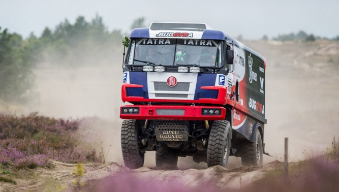 Ambitious partnership: TATRA TRUCKS, BUGGYRA and Martin Kolomý