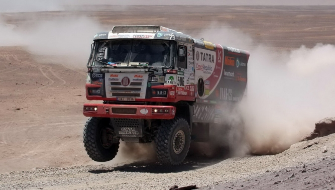 TATRA BUGGYRA Racing won the seventh place at the Dakar Rallye