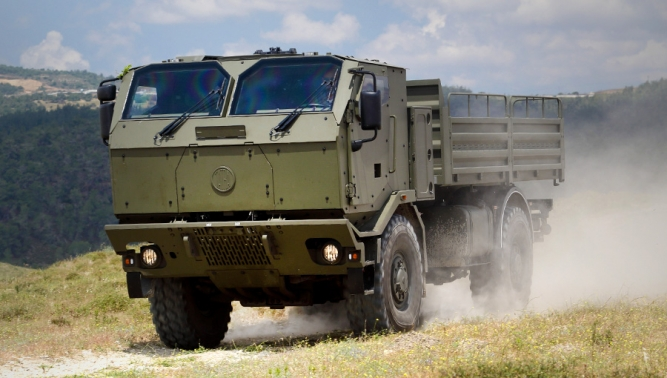 FORCE armoured cab