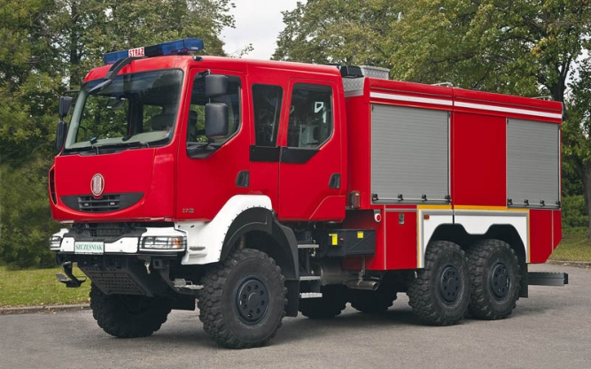 6x6 FIRE-FIGHTING SUPERSTRUCTURE CARRIER