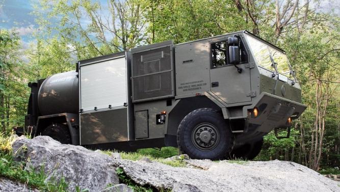 TATRA trucks at IDEX 2013