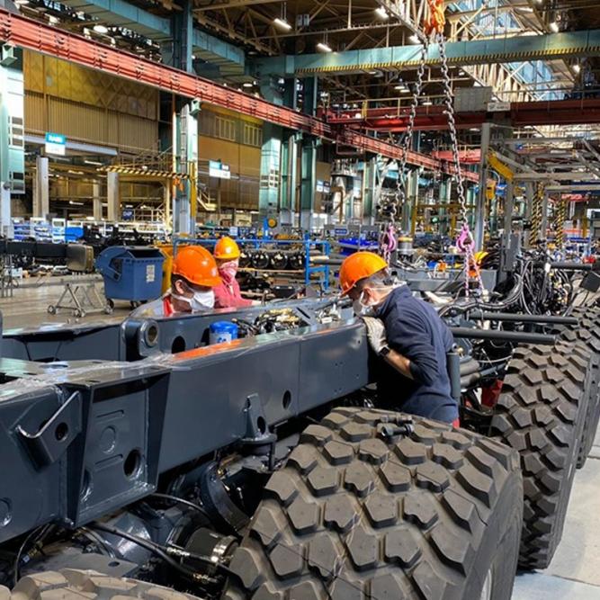 TATRA TRUCKS keeps production unlike many automakers across Europe