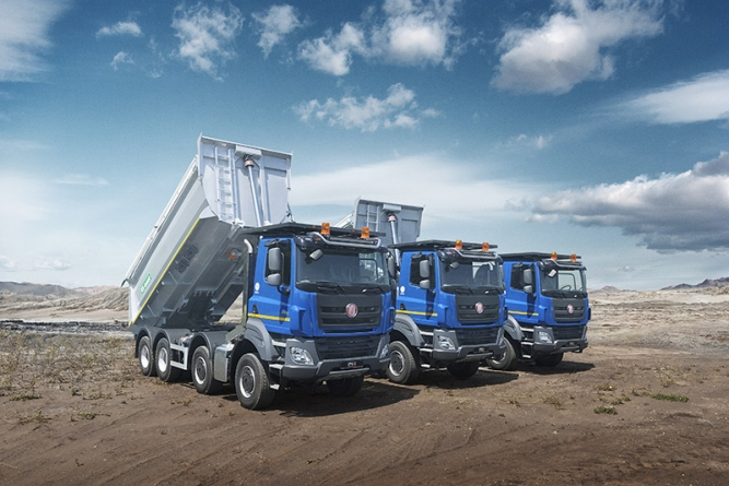 TATRA TRUCKS delivered 1,186 trucks last year and fulfilled its commitments