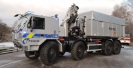 New TATRA FORCE for the Pyrotechnic Services of the Czech Police