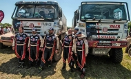 TATRA PHOENIX – successfully premiered at the 2016 Dakar Rally!