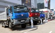 TATRA trucks at STT 2014 in Moscow