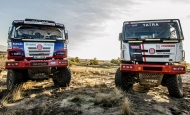 TATRA BUGGYRA RACING to set off for 2016 DAKAR Rally with TATRA PHOENIX and TATRA 815 Buggyra