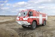 New TATRA 4x4 for fire-fighters in Hřensko